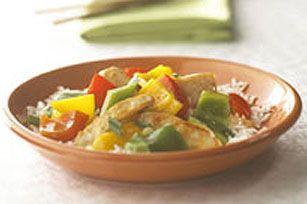 Sauté à votre façon -----------------------Une recette : trois délicieux sautés! Vous pouvez maintenant préparer en un rien de temps trois variantes pour les soirs de semaine.