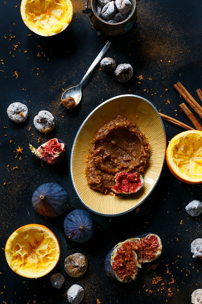 Fig&orange cream - RAW!