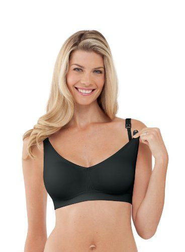 Bravado Designs Body Silk Seamless Nursing Bra 1401 Black