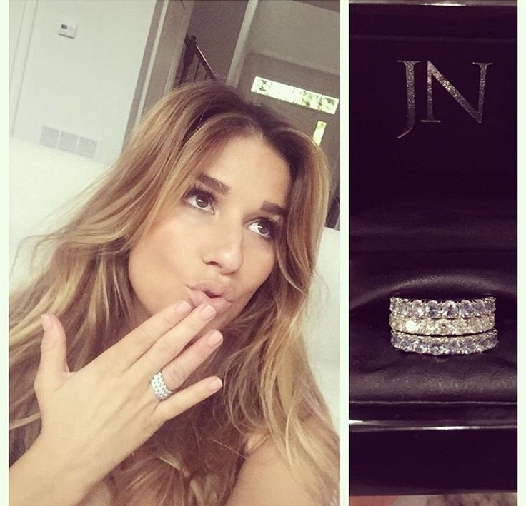 Jessie James Decker Engagement Ring Size