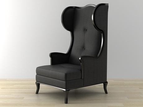 Bllack Raven high chair