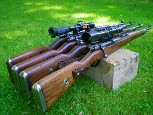 17 Best images about 8mm K98 Mauser (Greastest Bolt Action ...