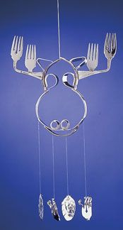 silverware windchimes images     Click here to view our entire Garden Decor collection.