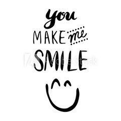 Eres él motivo de esta bella sonrisa
