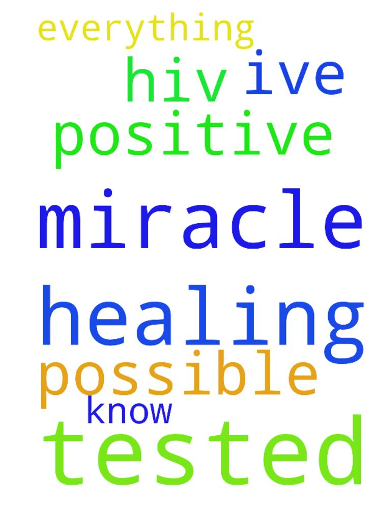 Please pray for a miracle healing, I've been tested - Please pray for a miracle healing, Ive been tested HIV positive but I know everything is possible in prayer please Posted at: https://prayerrequest.com/t/Nwb #pray #prayer #request #prayerrequest