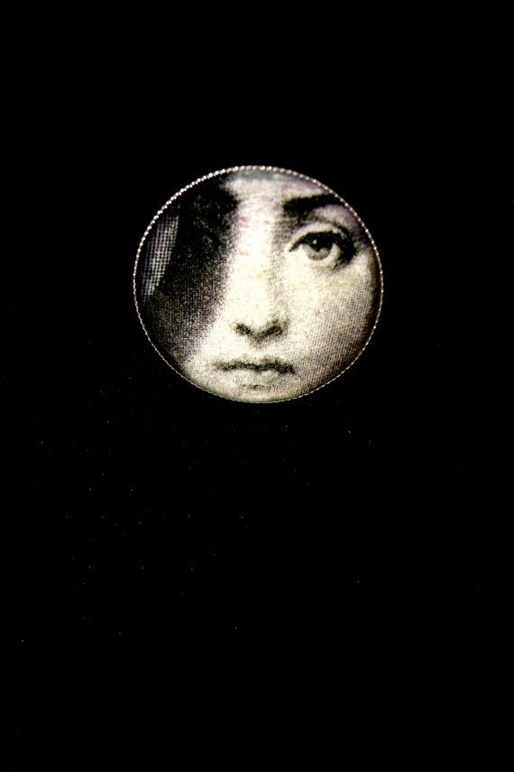 Dark side of the moon liquid glass ring film noir by RenatasArt, €10.00