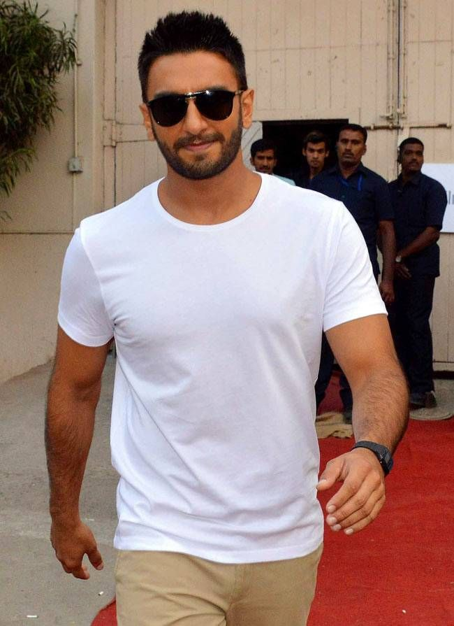 Ranveer Singh at Mehboob Studios. #Bollywood #Fashion #Style #Handsome
