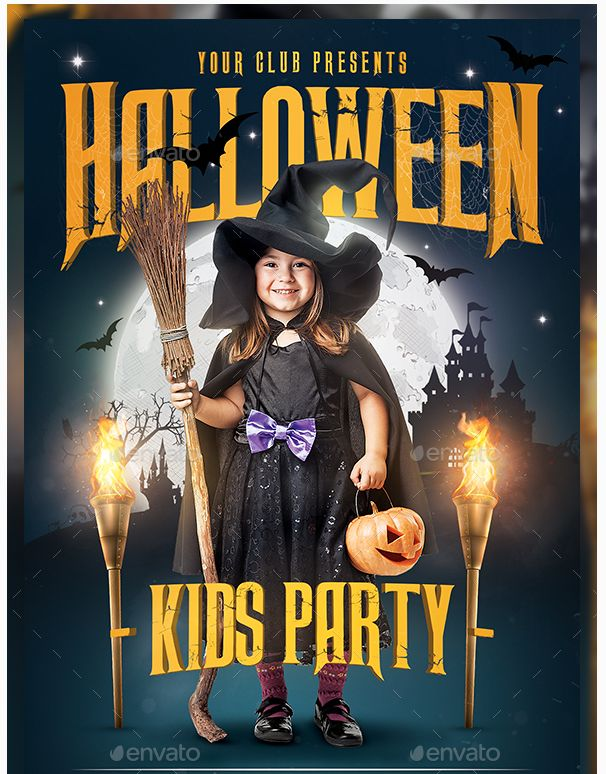 Best Beautiful Halloween Flyer Templates Images On