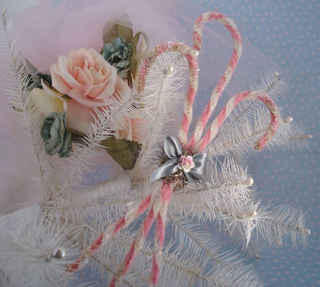 1050 best a very shabby christmas images on pinterest - Shabby chic christmas decorations to make ...