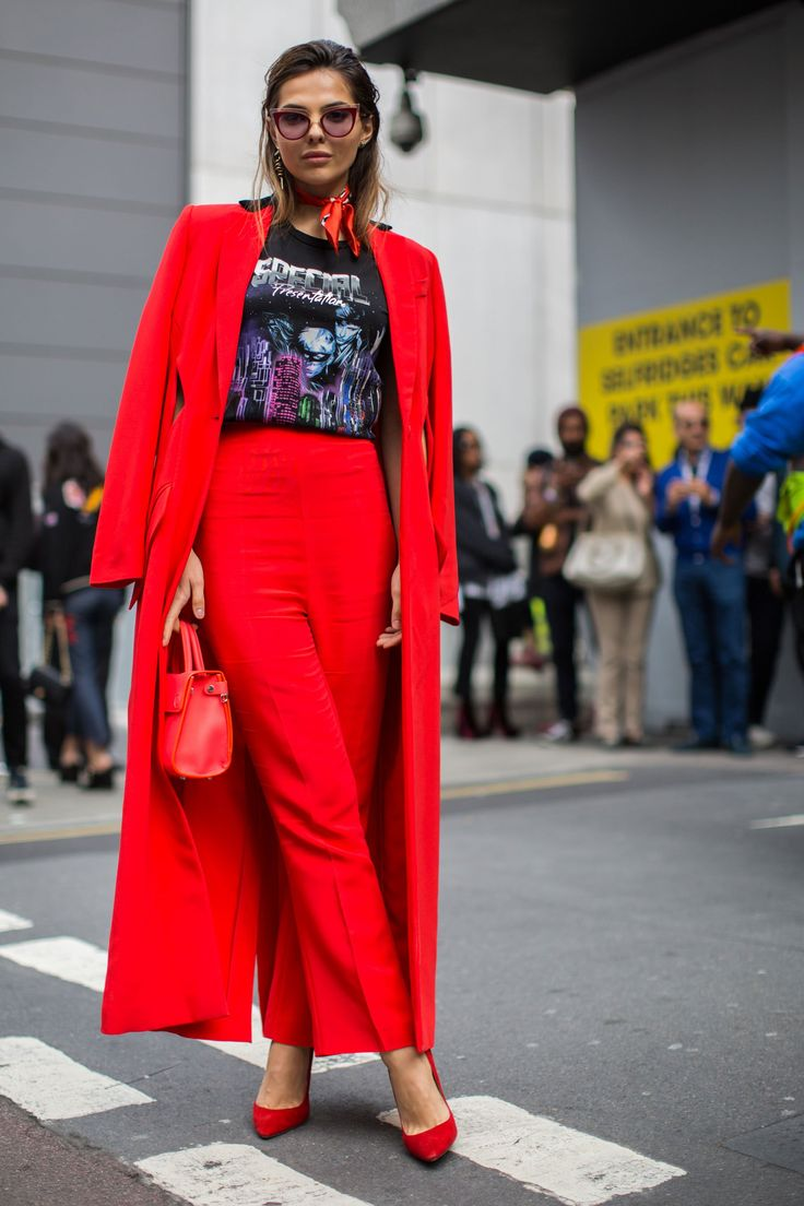 Seeing red at LFW