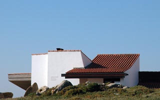 The Casa de Chá | Tea House by Siza Vieira  (1958-65), is designated as a paradigm of insertion and integration of architecture in a place.