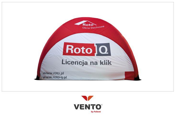 Namiot VENTO dla Roto. Więcej o namiocie VENTO: www.poltent.pl