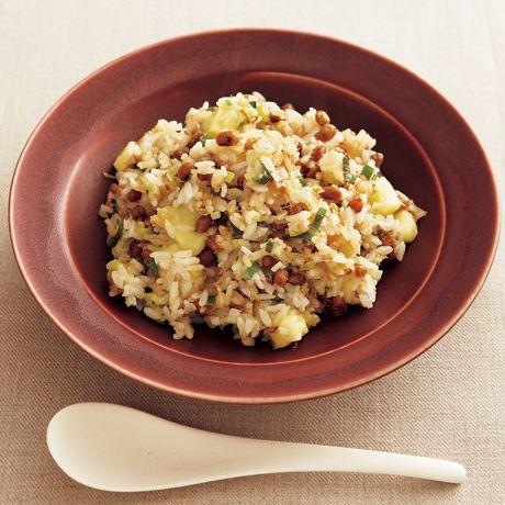 納豆チーズチャーハン   稲葉ゆきえさんのごはんの料理レシピ   プロの簡単料理レシピはレタスクラブニュース