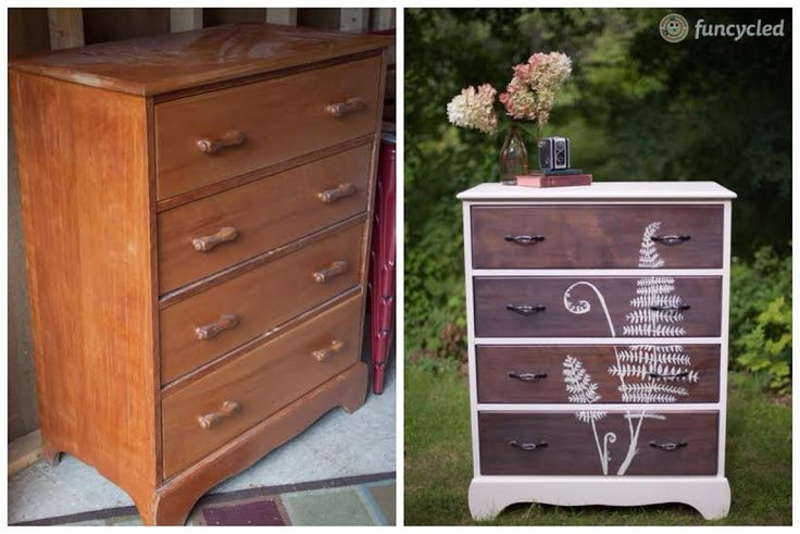 Repurposed Fern Dresser by FunCycled - www.funcycled.com: