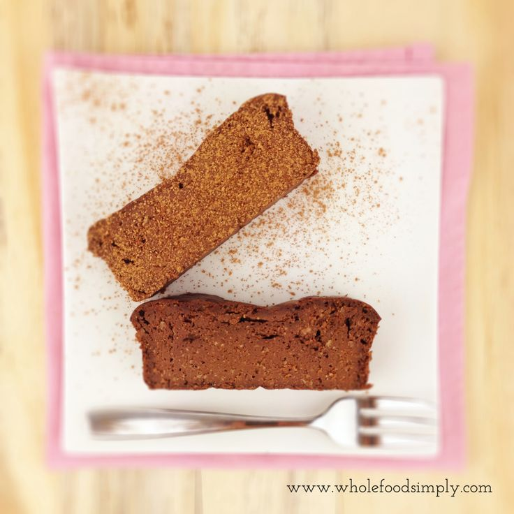 Simple and indulgent Chocolate Brownie. Free from gluten, grains and dairy. Enjoy.