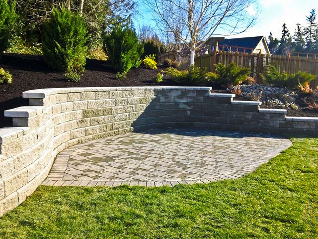 Retaining Wall & Landscaping  Done by Choice Landscapes LLC