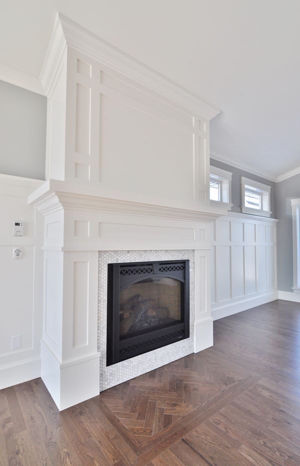Cool blues, tranquil yellows complimented by crisp white #trimwork elevate this home in the Prairies. With the help of Warman Home Centre, Pawluk Homes, finisher Mike Butts and Metrie interior finishings this space is now a home for Tyler and Amy.    #moulding #trim #trimwork #millwork #doors #interiordoors #interiordesign #design #homedesign #homedecor #decor