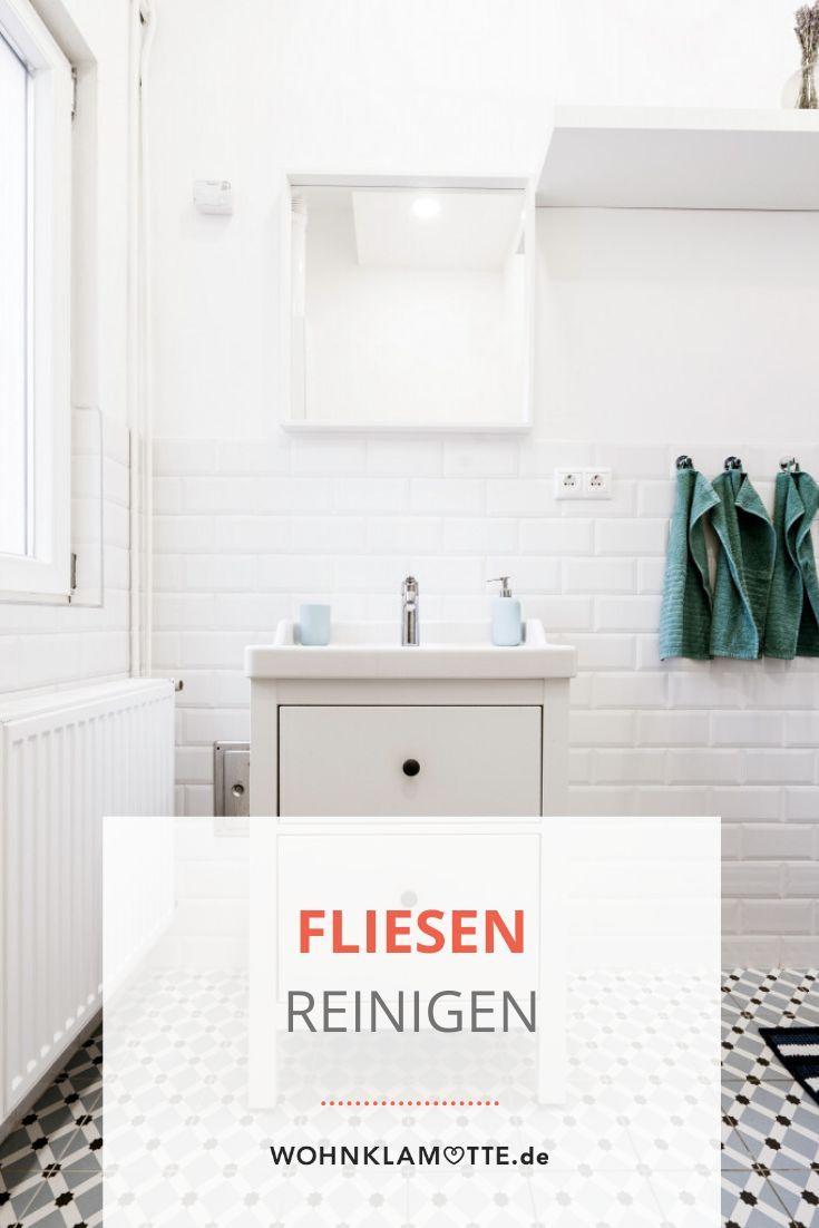 Bodenfliesen Reinigen Mit Hausmitteln Wird Es Sauber Wohnklamotte In 2020 Bodenfliesen Wohnklamotte Fliesen Reinigen