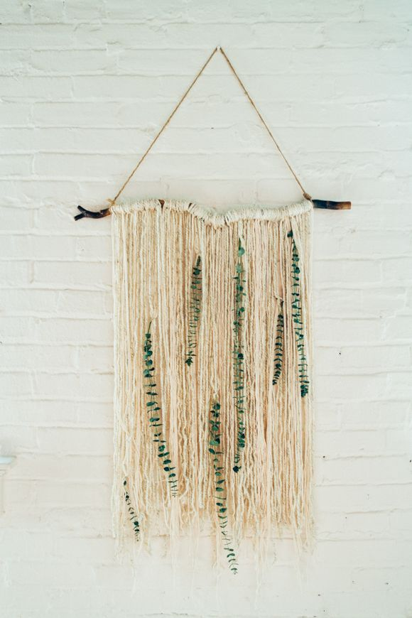Make: Eucalyptus Wall Hanging