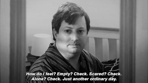 He leads a life similar to the average internet user. | Community Post: 26 Reasons David Mitchell Is The Internet's Spirit Animal