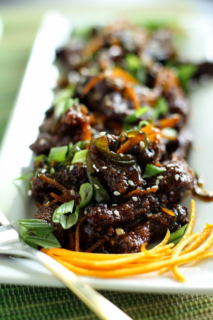 This is probably one of the best things I have ever made.Crispy Orange Peel Beef.