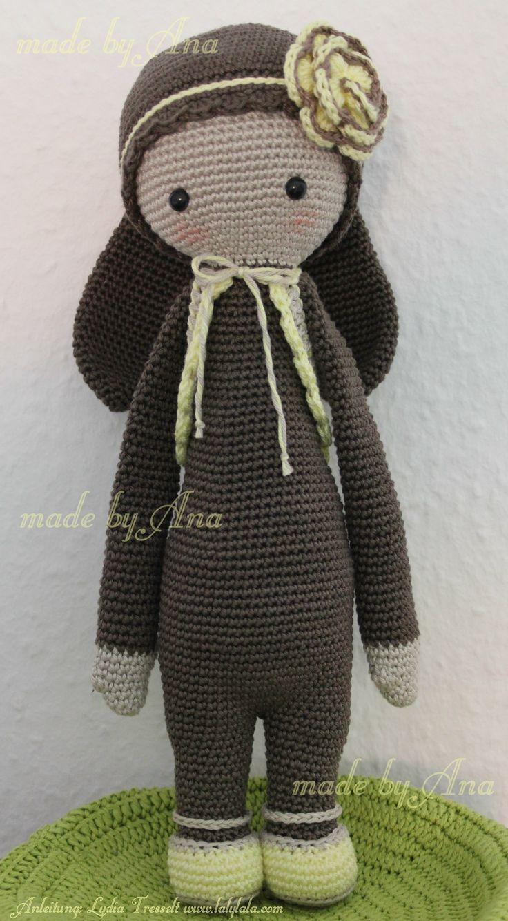 Amigurumi Dolls By Artist Lydia Tresselt : 1000+ images about Virka on Pinterest Free pattern ...