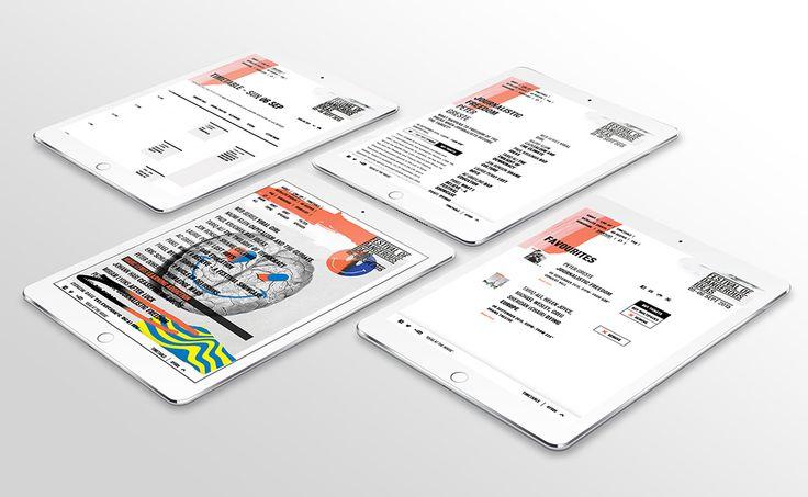 Festival Of Dangerous Ideas 2015 - Freelance Melbourne Digital Website Designer, UI Designer, Responsive Website Designer Melbourne