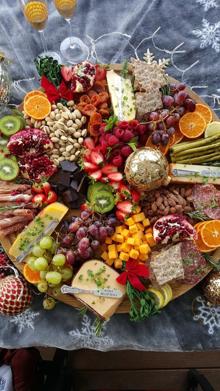 Get Your Party Season Started With A Holiday Grazing Board Recipe Clean Food Crush Food Crush Clean Recipes