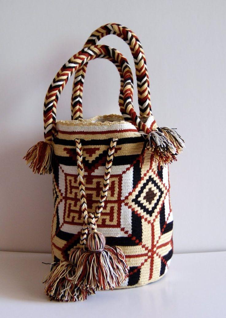 Wayuu Sun & Fun Bag Jicama - CaritoCaró