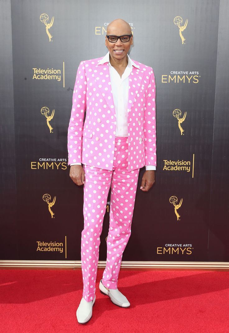 RuPaul Wins His First Emmy!