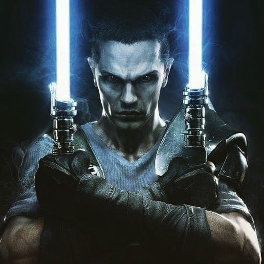 I feel the same kind of brooding intensity as you do Starkiller. #starwars