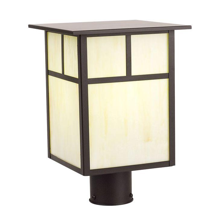 The 25 best craftsman post lights ideas on pinterest craftsman craftsman outdoor post light at destination lighting aloadofball Choice Image