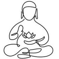 laughing buddha drawing - Google Search