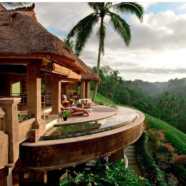 Luxe vacation in Bali.