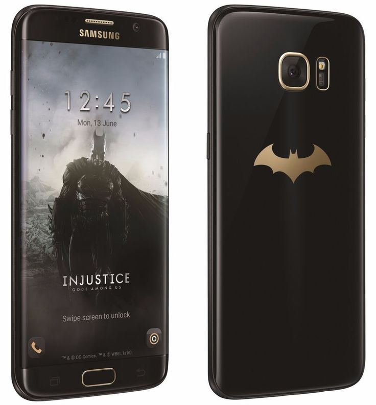 Samsung Galaxy S7 Edge Batman Injustice Edition SM-G9350 (FACTORY UNLOCKED) 32GB #Samsung