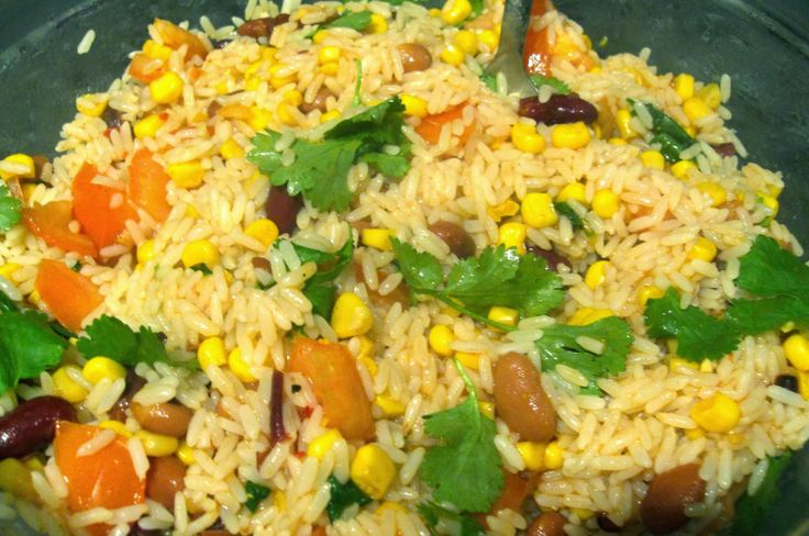 Fiesta Lime Rice. Tastes like a healthier version of a Chipotle ...
