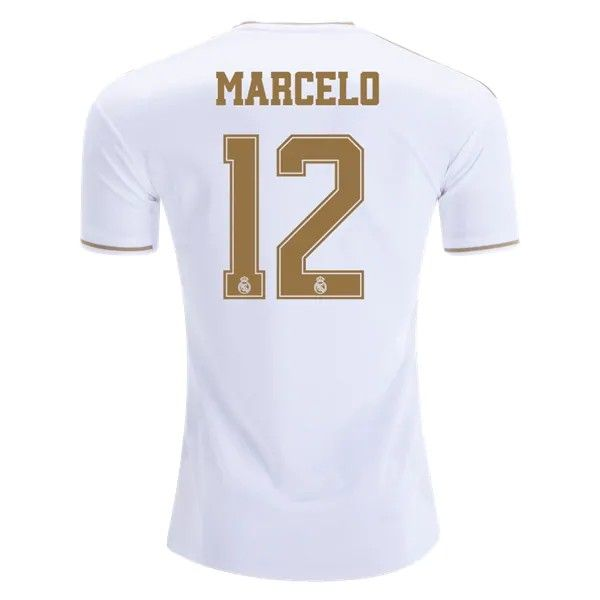 Real Madrid 19 20 Wholesale Home Marcelo Cheap Soccer Jersey Sale Real Madrid Soccer Jersey Madrid