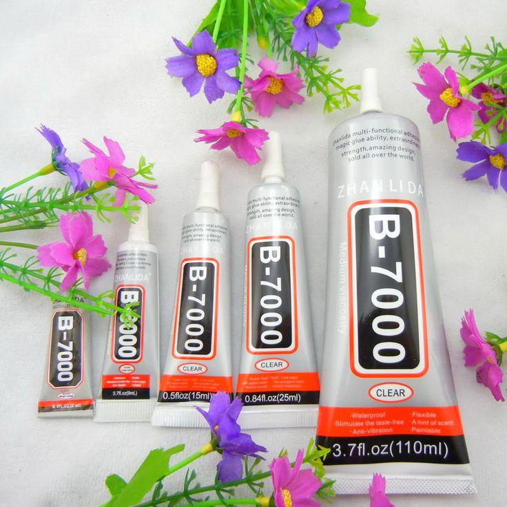 Standard Shipping B7000 3ml 15ml 25ml 110ml Multi-purpose liquid Super Adhesive Glue B-7000 For Rhinestones Pearls Diy Tool #Affiliate