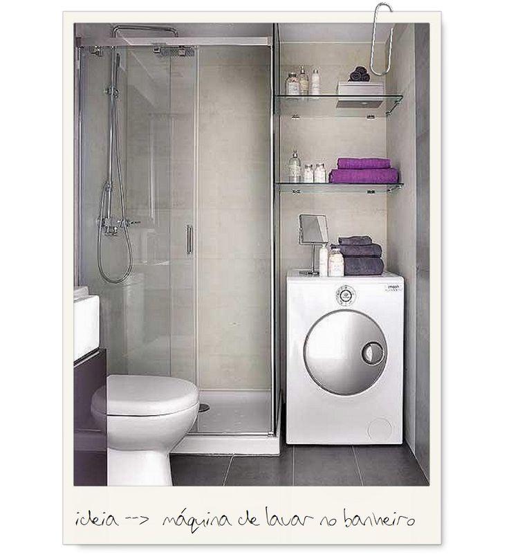 moodboard maquina de lavar roupa no banheiro