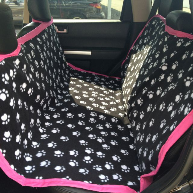Maddie's new DIY seat cover for the the car! :):) Here's the link to the tutorial I followed!!     http://ex-scapes.com/2011/11/09/sewing-tutorial-car-seat-cover-for-your-dog/