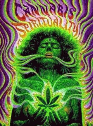 trippy weed pictures