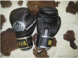 Limited edition company RAJA for professionals and experienced fighter. Boxing gloves for the winner.