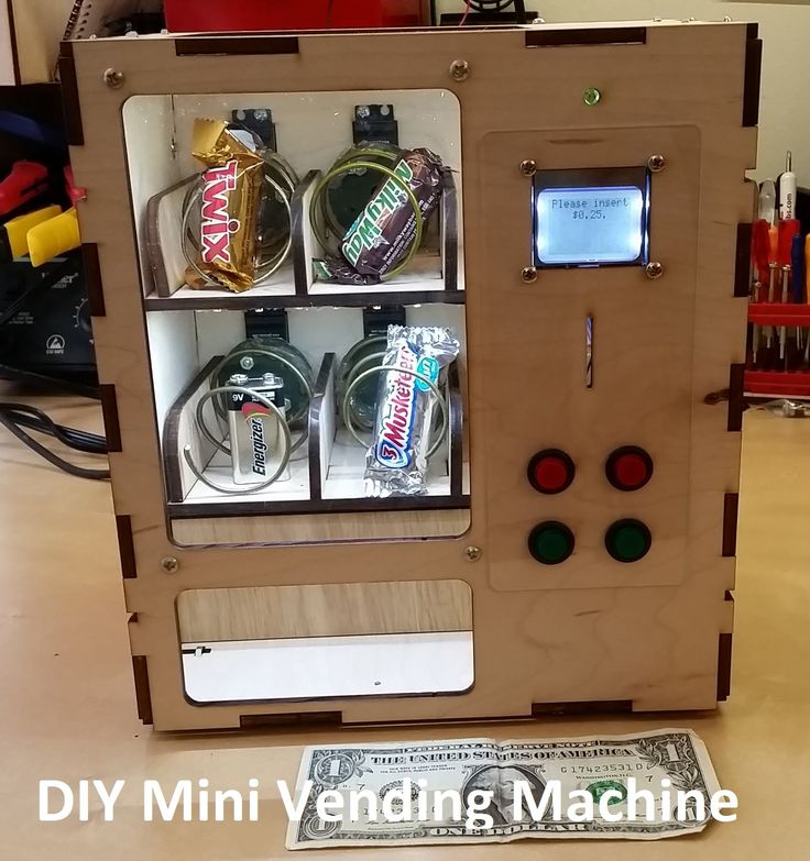 Venduino Arduino Vending Maching