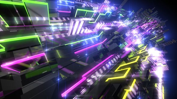 Light Building VJ LOOP HD V2 by n13oss Light building VJ
