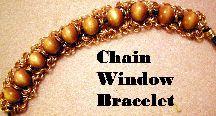 Chain Windows Bracelet Pattern at Sova-Enterprises.com