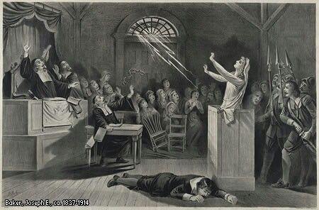 #TalDíaComoHoy 8 de febrero de 1692, realizan la denuncia que inicia los juicios por brujería en Salem. ¡Buenos días!