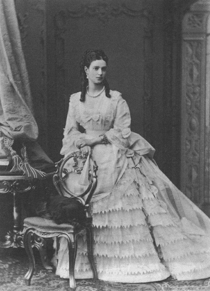Once PRINCESS DAGMAR of Denmark and later becoming EMPRESS MARIA FEODOROVNA mother of Nicholas