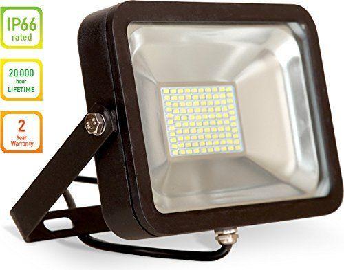 LLT LED COMPACT Floodlight SMD Outdoor Landscape Security ...