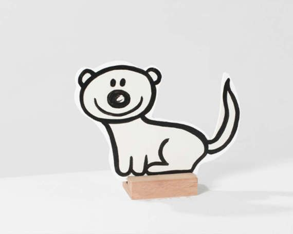 Wooden pet fred. Fred the fred. Cute and easy by rosesarerednl