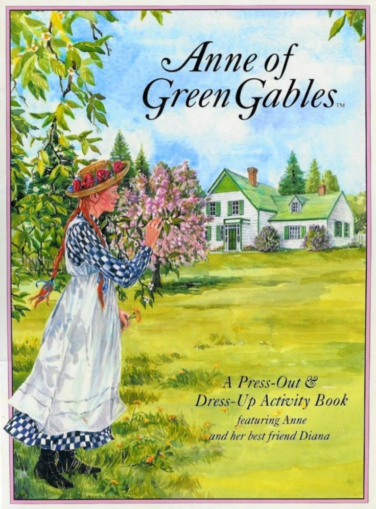 Anne of green gables paper dolls movies tv books for Anne of green gables crafts